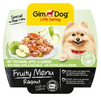 GimDog Little Darling Fruity Menu - Рагу из индейки, яблок и овощей 100 гр