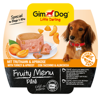GimDog Little Darling Fruity Menu - Рагу из индейки с абрикосом 100 гр