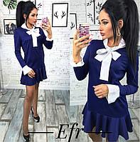 """Стильное молодежное платье мини """" Классика """" Dress Code"""