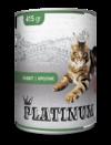PLATINUM Rabbit Cбалансированный корм для кошек с мясом кролика 415 г 415 гр