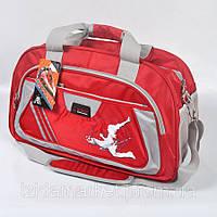 Большая спортивная сумка красного цвета фирмы Qiway