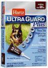 Hartz Ultra Guard  Plus Flea s Tick Drops for Dogs s Puppies 4 в 1  Капли от блох, блошиных яиц, клещей и комаров для собак от 27 кг 3 пипетки
