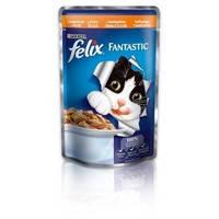 Felix Fantastic аппетитные кусочки с индейкой 100 гр