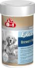 8in1 (8 в 1) Brewers Yeast Tablets with Garlic - пивные дрожжи с чесноком для собак и кошек 1430 табл