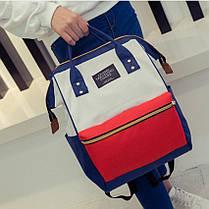 Каркасний трансформер сумка-рюкзак Кольоровий, фото 2
