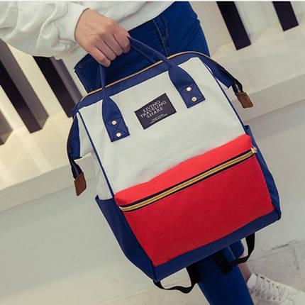 Каркасный трансформер сумка-рюкзак Цветной, фото 2