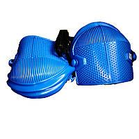 Наколенники строительные резиновые синие