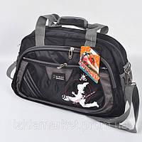 Большая спортивная сумка черного цвета фирмы Qiway