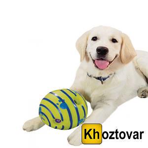 Іграшка для собак | Регочуть м'яч для собак | Wobble Wag Giggle