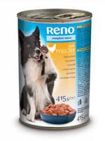 Reno консервы для собак с птицей 1240 гр