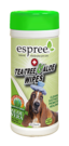 Espree Tea Tree and Aloe Healing Wipes Влажные салфетки с маслом чайного дерева и алоэ для дизинфекции и заживления 50 шт