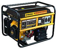 Генератор бензиновый 5.0/5.5кВт 4-х тактный электрозапуск  sigma 5710311