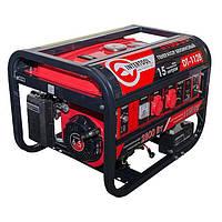 Генератор бензиновый макс мощн 3.1 кВт., ном. 2.8 кВт., 6.5 л.с., 4-х тактный, электрический и ручно
