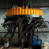 Кран мостовой двухбалочный специальный магнитный г/п 40/5 т.