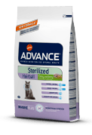 Advance (Эдванс) Cat Sterilized Hairball  корм для выведения шерсти с идейкой и ячменем для стерилизованных кошек 1.5 кг