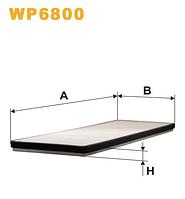 Фильтр салонный WIX WP6800 (K1000)