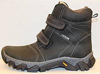 Ботинки зимние детские на липучках, детская зимняя обувь от производителя модель ВИ110-Спорт