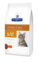 HILL`S (Хилс) Prescription Diet Feline s/d - лечебный корм для котов 1.5 кг