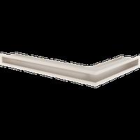 Решетка люфт угловая (белая, кремовая, чёрная, графитовая) 6x40 см, фото 1