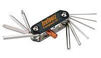 Ключ складной 11 инструментов Compact-11 ICE TOOLZ 95A5