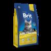 Brit Premium Cat salmon ADULT - Kомплексный корм с лососем для взрослых кошек 8 кг
