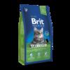 Brit Premium Cat STERILISED - Комплексный корм для стерилизованных кошек 8 кг