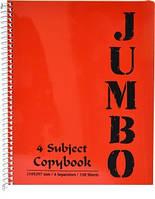 Блокнот Mintra Jumbo A4 120 листов ассорти (982173)