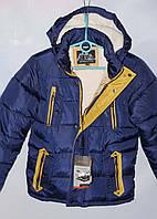 Подростковая куртка для мальчика 116-140 лет Зима