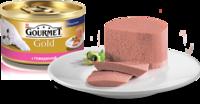 Gourmet Gold (Гурмет Голд) -  Паштет с говядиной для котов 85 гр