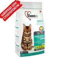 1st Choice (Фест Чойс) КОНТРОЛЬ ВЕСА корм для кастрированных котов 350 г