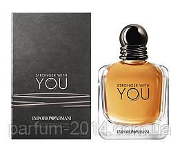 Чоловічі духи емпоріо армані стронгер віз ю Emporio Armani Stronger With You (осіб) парфум аромат запах