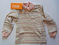 Гольф для девочек 9 месяцев Розовый Шардон-интерлок ГФ2(80) Бэмби Украина