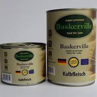 Baskerville  Консервы с телятиной для котов 200 г