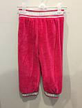 Теплые велюровые штаны для девочки, фото 3