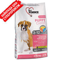 1stChoice (ФестЧойс) Puppy All Breed - корм для щенков с ягненком и рыбой 0.35