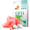 Optimeal сухой корм для щенков всех пород с индейкой 650 гр