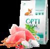 Optimeal сухой корм для щенков всех пород с индейкой 4 кг