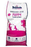 BOSCH PUPPY Lamb & Rice Breeder- Полнорационный корм для щенков до 4 месяцев на основе ягненка и риса 20 кг+ подарок