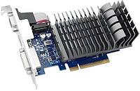 Видеоадаптер ASUS NVidia GT710 (1 GB / 64 bit DDR3; 954 MHz / 1800 MHz; PCI-Express x16; HDMI, VGA (D-Sub), DV