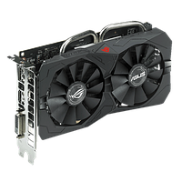 Видеоадаптер ASUS ATI Radeon RX 560 GAMING ROG STRIX (4 GB