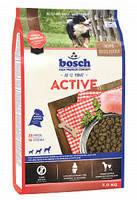 BOSCH ACTIVE - Полнорационный корм для взрослых собак с повышенным уровнем активности 3 кг