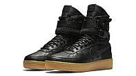 Женские кроссовки Nike SF AF 1 Black Реплика, фото 1