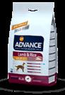 Advance (Эдванс) Dog Adult Lamb & Rice корм для взрослых собак с ягненком и рисом 3 кг