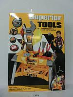 Столик с набором инструментов, на батарейках
