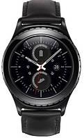 Стильные мужские смарт-часы Samsung Gear S2 Classic Blue Black SM-R7320ZKASEK черный
