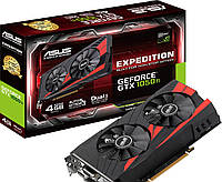 Видеоадаптер ASUS NVidia GTX1050Ti EXPEDITION OC (4 GB