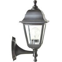 Светильник парковый НС04 черный матовое стекло