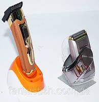 Машинка для стрижки Kemei KM 999 TV 2 В 1 аккумуляторная DJV /0-61