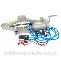 Домкрат  ромб, электрический 2т; 12В Intertool GT0310