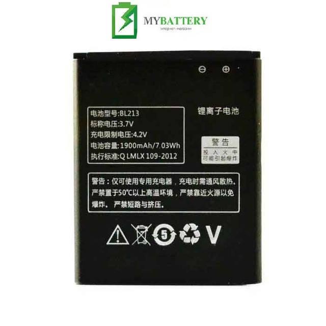 Оригинальный аккумулятор АКБ батарея Lenovo BL213 для Lenovo MA388A MA388
